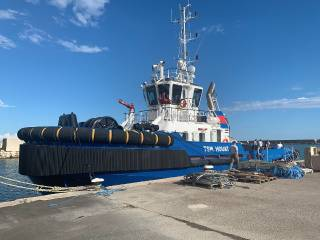 Damen Delivers ASD Tug 2810 to Thomas Services Maritimes