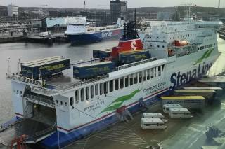 Kiel can nearly maintain its cargo handling volumes
