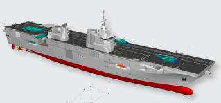 Fincantieri to support Daewoo in the design of the new Korean Aircraft Carriers
