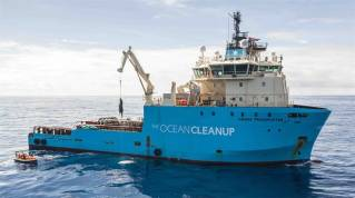 A.P. Moller- Maersk, The Ocean Cleanup extend relationship with new three-year partnership