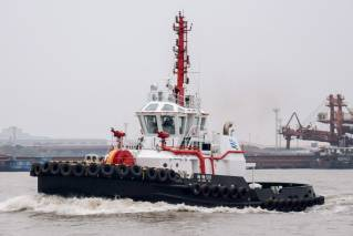 First Robert Allan Ltd. tug to operate in China's busiest port, the Port of Shanghai