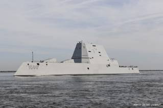 GE Powers US Navy's 1st Full-Electric Power and Propulsion Ship