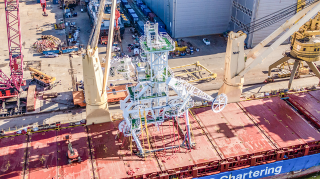 BLRT Group builds a unique Launch and Recovery System for a Namibian offshore diamond recovery vessel