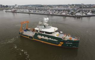 Hydrographic Survey Vessel Geo Ranger Delivered to Geo Plus B.V