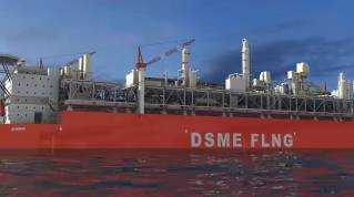 ABS Awards AIP to DSME's FLNG Hull Design