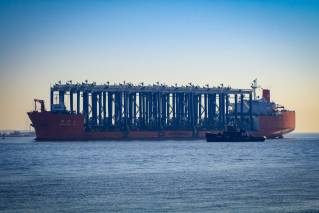 South Carolina Ports' Leatherman Terminal welcomes 15 hybrid cranes