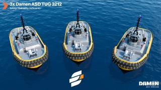 Damen awarded contract by Engage Marine for three ASD Tugs 3212