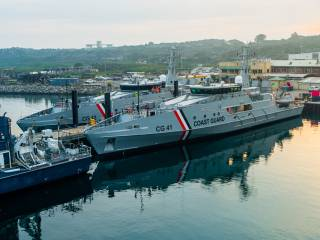 Austal Australia delivers two Cape-class patrol boats to Trinidad and Tobago Coast Guard