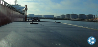Fleet Cleaner demonstrates ATEX certified technology for hull cleaning of tankers during cargo ops at Vopak terminals in Rotterdam