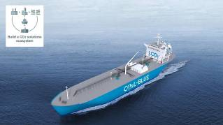 Mitsubishi Shipbuilding and French Company TotalEnergies Initiate Feasibility Study of LCO2 Carrier (Video)