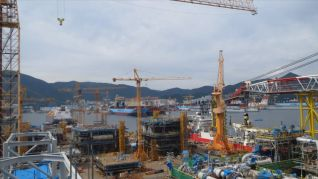 Daewoo Shipbuilding bags 904 bln-won order for 5 container ships