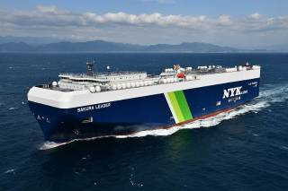 Japan's First LNG-fueled PCTC Delivered