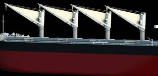 MOL Jointly Develops New Energy-saving Sail to Boost Ship Propulsion