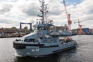 Remontowa: Tugboat H-13 PRZEMKO delivered