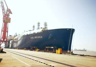 Final Yamal LNG carrier for MOL and Cosco set for delivery