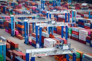 SC Ports sees strong volumes, progress at Hugh K. Leatherman Terminal
