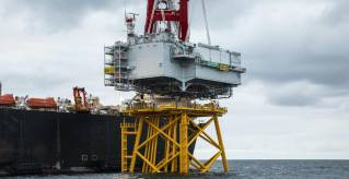 DEME installs first offshore substation in France at Saint-Nazaire Offshore Wind Farm