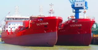 FKAB: MT SALTSTRAUM Delivered; MT SYDSTRAUM on Sea Trial