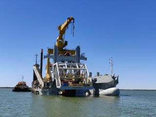 Jan De Nul successfully completes Port Hedland dredging