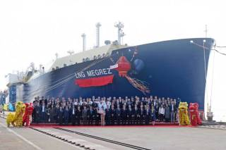 LNG Megrez - Final Yamal LNG carrier for MOL and Cosco named