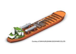 ClassNK grants AiP to SHIN KURUSHIMA DOCKYARD for their concept design of an LNG-fueled chemical tanker