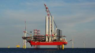 Fred. Olsen Windcarrier contracted to finish Trianel Windpark Borkum II