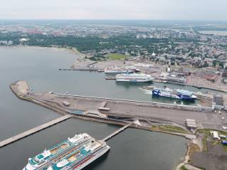 Port of Tallinn opened a new and sustainable terminal directly connected to new entertainment venues and tourist locations