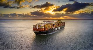 MSC Becomes First Major Shipping Line To Use 30% Biofuel Blends