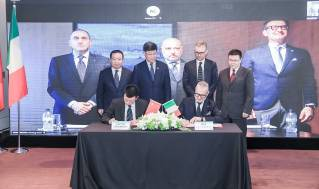 RINA signed an agreement with SWS for the classification of the largest ever cruise ship to be built in China
