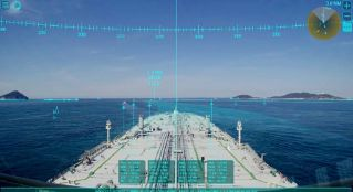 MOL Introduces AR Navigation System at Maritime Conference in Dubai