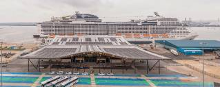 The Port of Southampton welcomes first passengers to new cruise terminal