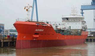 Successful Sea Trial for GEFO 7000 DWT Tanker