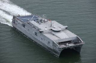 Austal USA Delivers 12th Expeditionary Fast Transport, USNS Newport (EPF-12), To US Navy