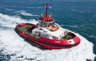 Sanmar delivers its first Tier lll tugboat to Norwegian operator