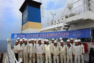 COSCO SHIPPING Specialized's Zhi Yuan Kou delivers final modules for TCO's FGP-WPMP Project