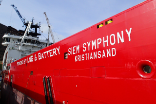 Siem Offshore upgrades PSV Siem Symphony with a hybrid battery package