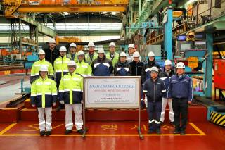 GasLog cuts steel for 180,000-cbm newbuild