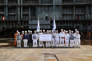 Minerva Gas lays keel for LNG newbuild at SHI