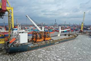 FESCO provided relocation of four straddle carriers between Global Ports' terminals