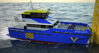 Strategic Marine Launches Next Generation Strat Cat CTV Design for Offshore Wind Market