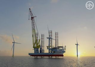 Jan De Nul's Voltaire secured for Dogger Bank Wind Farms