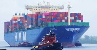 North Carolina Ports Welcomes Largest Container Ship to the Port of Wilmington