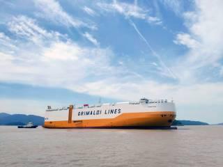 PCTC Grande Texas enters the Grimaldi fleet
