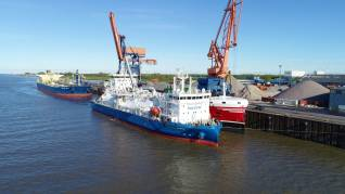 Gasum's subsidiary Nauticor conducts first ship-to-ship LNG bunkering operation for a product tanker in Germany