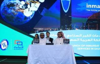 Inmarsat startet Konnektivitätsdienste in Saudi-Arabien zu Land, zu Wasser und in der Luft