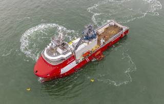 Shipyard Royal Niestern Sander completes her second conversion project for a walk-to-work vessel