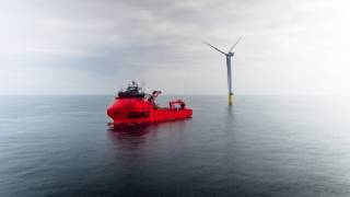 ESVAGT: Innovative cooperation between offshore wind turbines and drones