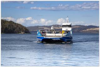 "Australia: All-aluminium ferry ""Nairana"" propelled by SCHOTTEL"