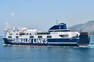 The Grimaldi Group will operate the Naples-Cagliari-Palermo RoPax Line
