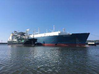 Eesti Gaas starts delivering natural gas from the Lithuanian vessel Independence